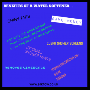 BENEFITS OF A WATER SOFTENER…